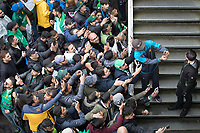Fakhar Zaman (Pakistan) poses for selfies with fans during Pakistan vs Sri Lanka, ICC World Cup Cricket at the Bristol County Ground on 7th June 2019
