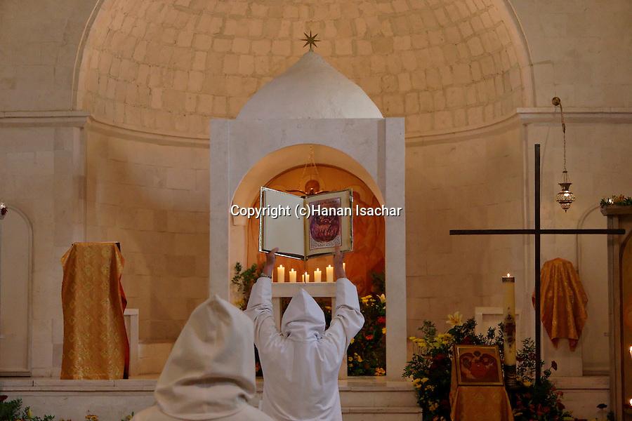 Israel, La Trinite holiday at Beth Gemal Monastery