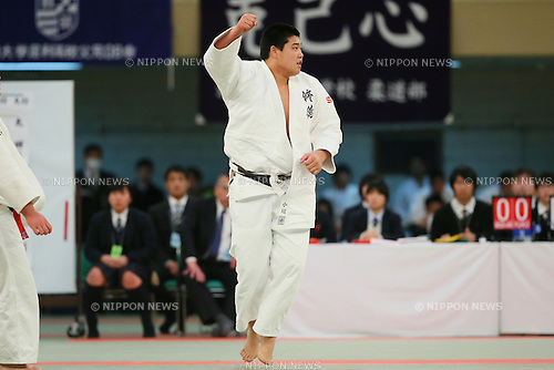 Yusei Ogawa (Shutoku), <br /> MARCH 21, 2014 - Judo : <br /> The 36th All Japan High School Judo Tournament <br /> Men's Team Final <br /> at Nippon Budokan, Tokyo, Japan. <br /> (Photo by YUTAKA/AFLO SPORT) [1040]