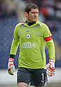 Falkirk keeper Michael McGovern who pulled off a number of good saves.