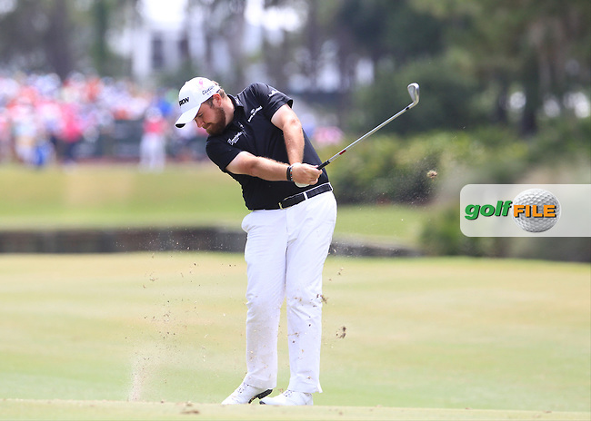 Shane Lowry  (IRE)  during the Final Round of The Players, TPC Sawgrass, Ponte Vedra Beach, Jacksonville.   Florida, USA. 15/05/2016.<br /> Picture: Golffile   Mark Davison<br /> <br /> <br /> All photo usage must carry mandatory copyright credit (&copy; Golffile   Mark Davison)