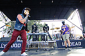 HOLLYWOOD UNDEAD - Hollywood Undead performing live at the 2012 Epicenter Festival at Verizon Wireless Amphitheare in Irvine, CA USA - September 22, 2012. Photo © Kevin Estrada / Iconicpix