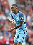 Aleksander Kolarov of Manchester City during the Premier League match at Old Trafford Stadium, Manchester. Picture date: September 10th, 2016. Pic Simon Bellis/Sportimage