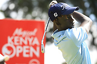 Bradley Mogire (am) (KEN) in action during the first round of the Magical Kenya Open presented by ABSA played at Karen Country Club, Nairobi, Kenya. 14/03/2019<br /> Picture: Golffile | Phil Inglis<br /> <br /> <br /> All photo usage must carry mandatory copyright credit (&copy; Golffile | Phil Inglis)