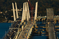 New Tappan Zee Bridge open for heavy traffic in New York