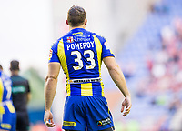 Picture by Allan McKenzie/SWpix.com - 13/07/2017 - Rugby League - Betfred Super League - Wigan Warriors v Warrington Wolves - DW Stadium, Wigan, England - Ben Pomeroy, shirt back.