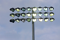 The floodlights are switched on at the 'tea' interval during Essex CCC vs Middlesex CCC, Specsavers County Championship Division 1 Cricket at The Cloudfm County Ground on 26th June 2017