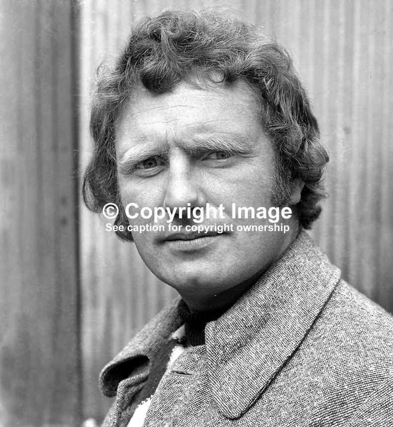 Cathal Newcombe, Republican Clubs, candidate, Londonderry Constituency, N Ireland Convention Election, May 1975. 197505000410<br />