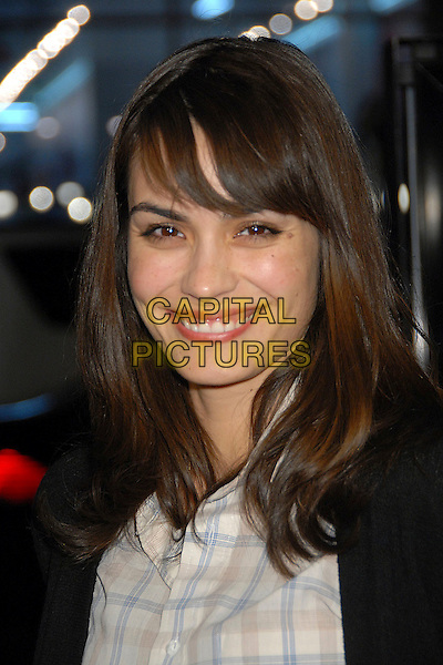 """SHANNYN SOSSAMON.""""P.S. I Love You"""" Los Angeles Premiere at Grauman's Chinese Theatre, Hollywood, California, USA,.9 December 2007..portrait headshot fringe.CAP/ADM/BP.©Byron Purvis/AdMedia/Capital Pictures."""