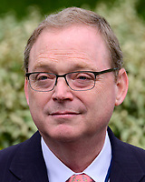 APR 16 Kevin A. Hassett speaks to reporters