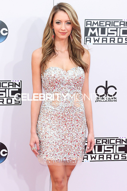 LOS ANGELES, CA, USA - NOVEMBER 23: Taryn Southern arrives at the 2014 American Music Awards held at Nokia Theatre L.A. Live on November 23, 2014 in Los Angeles, California, United States. (Photo by Xavier Collin/Celebrity Monitor)
