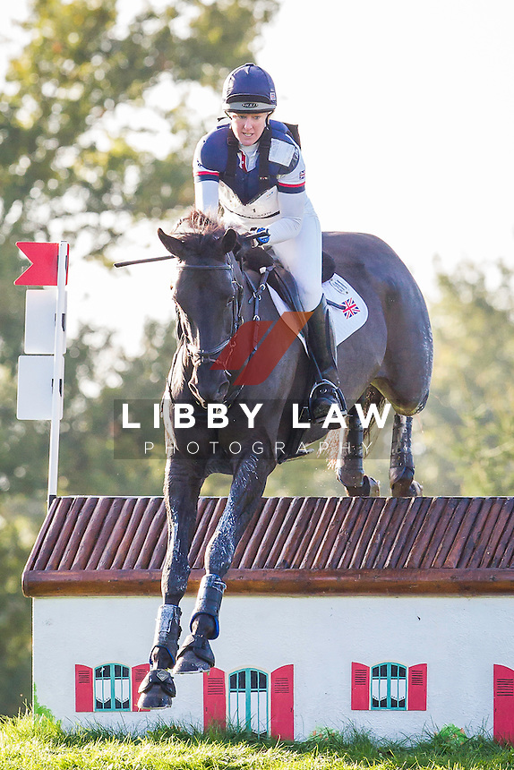 GBR-Nicola Wilson (BULANA) INTERIM-2ND: CIC2* CROSS COUNTRY: 2014 FRA-Les Etoiles de Pau (Saturday 25 October) CREDIT: Libby Law COPYRIGHT: LIBBY LAW PHOTOGRAPHY - NZL