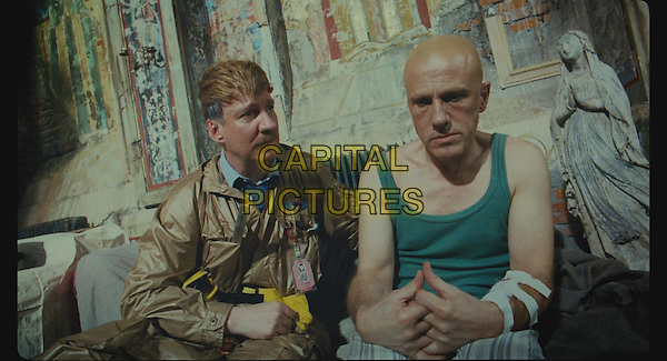 David Thewlis and Christoph Waltz<br /> in The Zero Theorem (2013)<br /> *Filmstill - Editorial Use Only*<br /> CAP/NFS<br /> Image supplied by Capital Pictures
