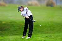 Chiara Vikkula (Belgium) during the Irish Girls' Open Stroke Play Championship, Roganstown Golf Club, Swords, Ireland. 13/04/2018.<br /> Picture: Golffile | Fran Caffrey<br /> <br /> <br /> All photo usage must carry mandatory copyright credit (&copy; Golffile | Fran Caffrey)