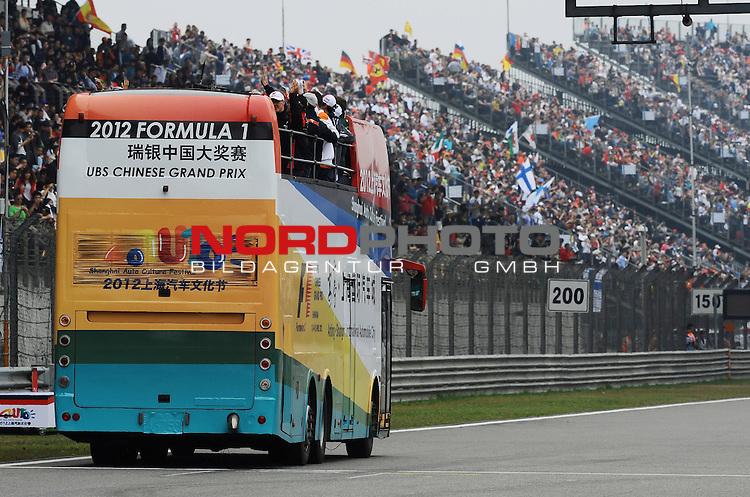 12.-15.04.2012, Shanghai-International-Circuit, Schanghai, CHN, Gro&szlig;er Preis von China / Schanghai 2012, RACE 03 im Bild Chinese F1 GP Impressions<br />  Foto &copy; nph / Mathis