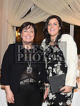 Moyra Callan and her daughter Christina from Fab Flowers collected the award for best Newcomer at the Ardee Traders annual awards night in the Nuremore Hotel. Photo:Colin Bell/pressphotos.ie