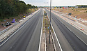 11/07/18<br /> <br /> Almost no traffic on the M1 between Nottingham and Derby at 18:53  only seven minutes before the kick-off of England's semi final World Cup match against Croatia. <br /> <br /> All Rights Reserved, F Stop Press Ltd. (0)1335 344240 +44 (0)7765 242650  www.fstoppress.com rod@fstoppress.com
