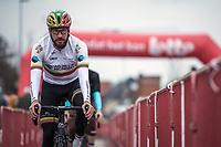 Gediminas Bagdonas (LTU/AG2R-La Mondiale) pre race<br /> <br /> 71st Kuurne-Brussel-Kuurne (2019)<br /> Kuurne > Kuurne 201km (BEL)<br /> <br /> ©kramon