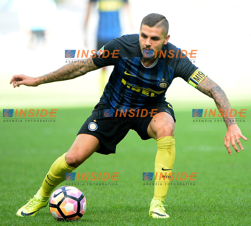 Mauro Icardi Inter<br /> Milano 25-09-2016 Stadio Giuseppe Meazza - Football Calcio Serie A Inter - Bologna. Foto Giuseppe Celeste / Insidefoto