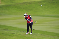 Marina Alex of Team USA on the 2nd fairway during Day 2 Foursomes at the Solheim Cup 2019, Gleneagles Golf CLub, Auchterarder, Perthshire, Scotland. 14/09/2019.<br /> Picture Thos Caffrey / Golffile.ie<br /> <br /> All photo usage must carry mandatory copyright credit (© Golffile | Thos Caffrey)