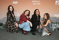 "10 May 2019 - North Hollywood, California - Mikey Madison, Hannah Alligood, Pamela Adlon, Olivia Edward. FYC Red Carpet Event For Season 3 Of FX's ""Better Things"" held at The Saban Media Center. Photo Credit: Faye Sadou/AdMedia"