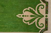 France, Loire-et-Cher (41), Chambord, château de Chambord, le jardin à la française, détail