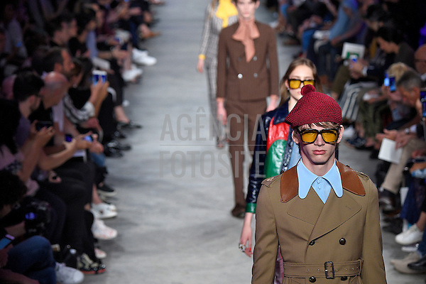 Gucci-<br /> Milan Menswear Spring Summer 2016 - June 2016