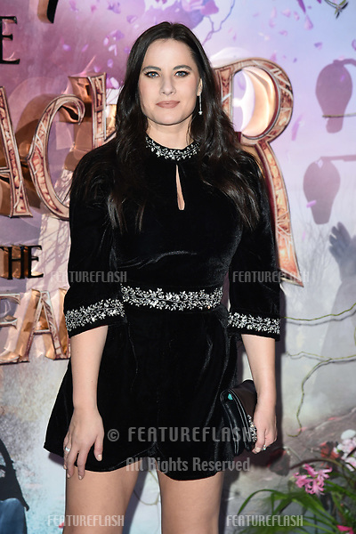 """LONDON, UK. November 01, 2018: Kat Shoob at the European premiere of """"The Nutcracker and the Four Realms"""" at the Vue Westfield, White City, London.<br /> Picture: Steve Vas/Featureflash"""
