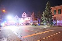 13.12.2014: Weinhachtsbaum in Dornheim wird gefällt