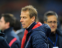 Coach Juergen Klinsmann (m, USA), before the friendly match Italy against USA at the Stadium Luigi Ferraris at Genoa Italy on february the 29th, 2012.