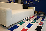 Sofa, Rug Samples, Dune Furniture, New York, New York