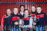 Workmens Rowing Club that were successful in the Irish Coastal Rowing Championships in Ballyshannon over the weekend l-r: Mary Moynihan, Ciara Moynihan, Pauline O'Brien, fiona Browne, Annie O'Donoghue, Ciara Browne,