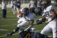 BERKELEY, CA - April 14, 2017: Cal Bears Football Spring Practice.
