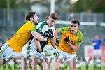 Kerry team mates Killian Young and James O'Donoghue had a classic battle the County Championship final on Sunday