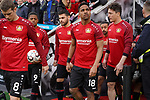 17.03.2019, BayArena, Leverkusen, GER, 1. FBL, Bayer 04 Leverkusen vs. SV Werder Bremen,<br />  <br /> DFL regulations prohibit any use of photographs as image sequences and/or quasi-video<br /> <br /> im Bild / picture shows: <br /> auflaufen Leverkusener <br /> <br /> Foto © nordphoto / Meuter