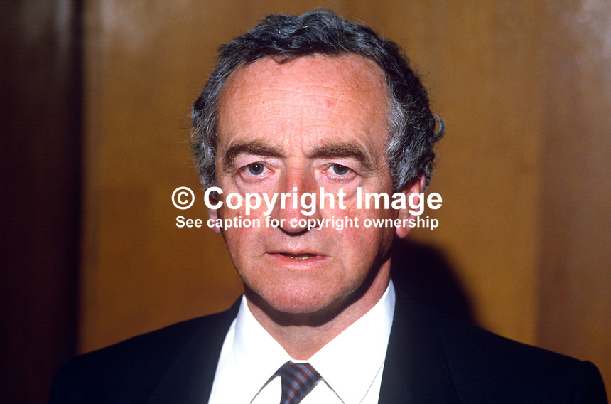 Ronnie O'Doherty, coroner, Londonderry, N Ireland, UK, 19850602ROD1..Copyright Image from Victor Patterson, 54 Dorchester Park, Belfast, UK, BT9 6RJ..Tel: +44 28 9066 1296.Mob: +44 7802 353836.Voicemail +44 20 8816 7153.Skype: victorpattersonbelfast.Email: victorpatterson@me.com.Email: victorpatterson@ireland.com (back-up)..IMPORTANT: If you wish to use this image or any other of my images please go to www.victorpatterson.com and click on the Terms & Conditions. Then contact me by email or phone with the reference number(s) of the image(s) concerned.