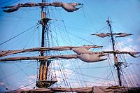 Tall Ship, Schooner, Sailing, Southern California, Santa Monica Bay, South Bay, SoCal, Motor Boating, Power Yachts, Transportation