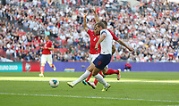England's Harry Kane scores in the first half but the goal was disallowed for offside<br /> <br /> Photographer Rob Newell/CameraSport<br /> <br /> UEFA European Championship Qualifying Group A - England v Bulgaria - Saturday 7th September 2019 - Wembley Stadium - London<br /> <br /> World Copyright © 2019 CameraSport. All rights reserved. 43 Linden Ave. Countesthorpe. Leicester. England. LE8 5PG - Tel: +44 (0) 116 277 4147 - admin@camerasport.com - www.camerasport.com