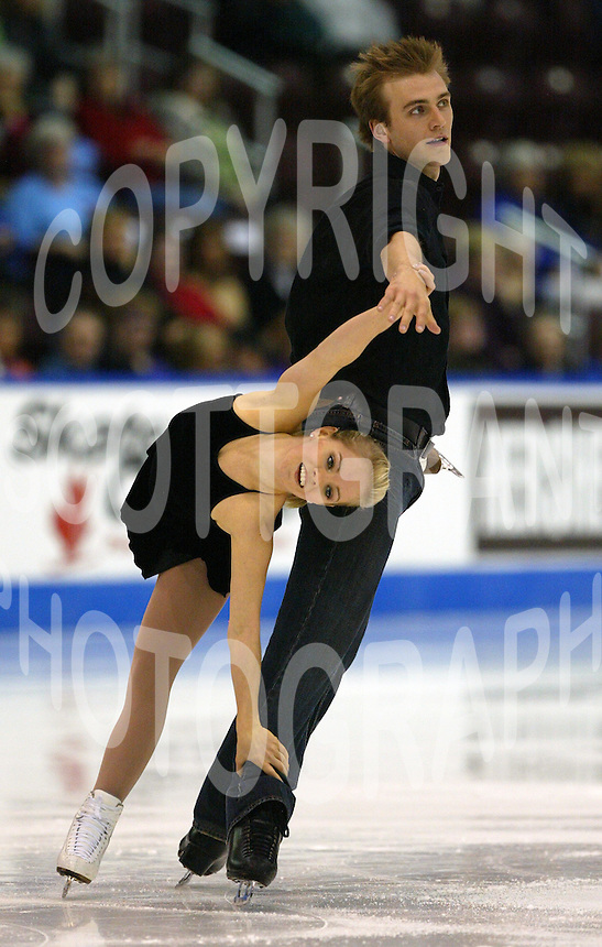 Anabelle Langlois and Cody Hay Canada 2005. Photo Scott Grant