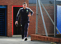 Burnley's Sam Vokes arrives at Selhurst Park<br /> <br /> Photographer Ashley Crowden/CameraSport<br /> <br /> The Premier League - Crystal Palace v Burnley - Saturday 13th January 2018 - Selhurst Park - London<br /> <br /> World Copyright &copy; 2018 CameraSport. All rights reserved. 43 Linden Ave. Countesthorpe. Leicester. England. LE8 5PG - Tel: +44 (0) 116 277 4147 - admin@camerasport.com - www.camerasport.com