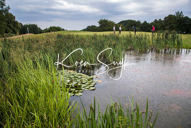 GROESBEEK -  water, vijver, Nijmeegse Baan hole 15.   Golfbaan Het Rijk van Nijmegen. COPYRIGHT  KOEN SUYK