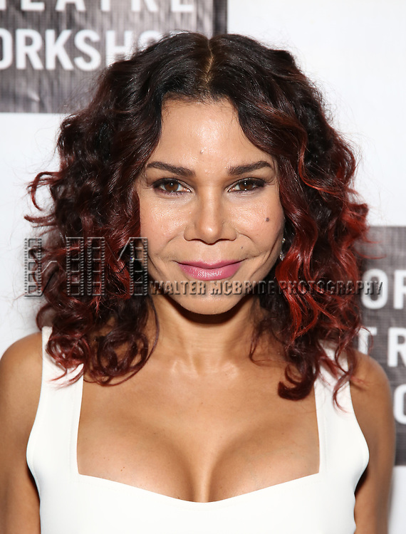 Daphne Rubin Vega attends New York Theatre Workshop's 2017 Spring Gala at the Edison Ballroom on May 15, 2017 in New York City.