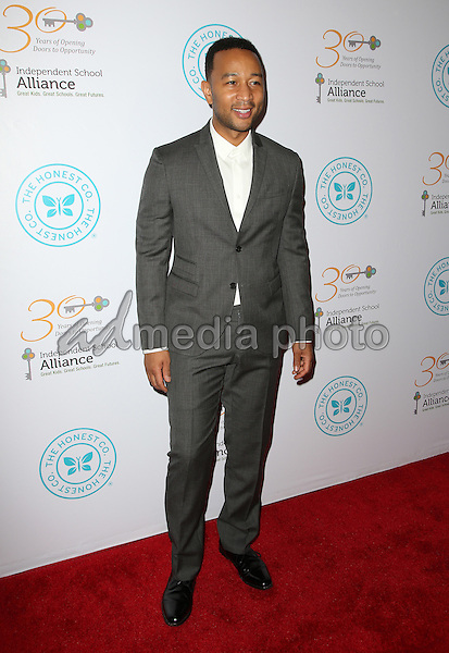 17 March 2015 - Beverly Hills, John Legend. The Independent School Alliance For Minority Affairs Impact Awards Dinner Held at Four Seasons Hotel Los Angeles at Beverly Hills. Photo Credit: F.Sadou/AdMedia