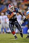 28 August 2008:  Buffalo Bills' running back Bruce Hall in action against the Detroit Lions at Ralph Wilson Stadium in Orchard Park, NY. The Lions defeated the Bills 14-6 in their fourth and final pre-season game...Mandatory Photo Credit: Ed Wolfstein Photo