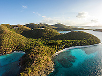 Aerial view of Denis Bay<br />