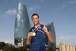 27/06/2015 - Joe Joyce (GBR) Gold medal - Flame Towers - Baku - Azerbaijan