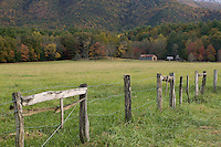 View from Hyatt Lane in Cades Cove, Great Smoky Mountains National Park