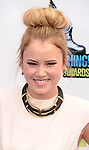 SANTA MONICA, CA - AUGUST 19: Taylor Spreitler arrives at the 2012 Do Something Awards at Barker Hangar on August 19, 2012 in Santa Monica, California. /NortePhoto.com....**CREDITO*OBLIGATORIO** ..*No*Venta*A*Terceros*..*No*Sale*So*third*..*** No Se Permite Hacer Archivo**