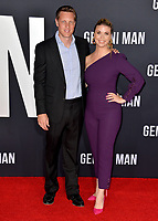 "LOS ANGELES, USA. October 07, 2019: David Ellison & Sandra Lynn Modic at the premiere of ""Gemini Man"" at the TCL Chinese Theatre, Hollywood.<br /> Picture: Paul Smith/Featureflash"