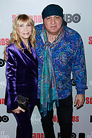 NEW YORK, NY - JANUARY 9: Maureen Van Zandt, Steven Van Zandt at &ldquo;The Sopranos&quot; 20th Anniversary Panel Discussion at SVA Theater on January 9, 2019 in New York City. <br /> CAP/MPI99<br /> &copy;MPI99/Capital Pictures